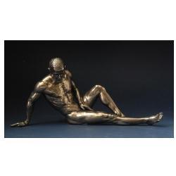 Statueta polystone limbajul trupului model 27/12cm WU75076