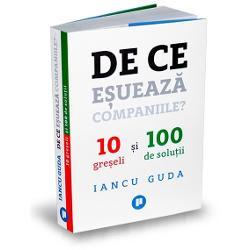 """Aceast&259; carte documenteaz&259; cele mai comune 10 gre&537;eli ale companiilor active din România care au intrat în insolven&539;&259; în ultimii 10 ani Într-un limbaj simplu &537;i pe în&539;elesul tuturor autorul ofer&259; 10 r&259;spunsuri practice la întrebarea """"de ce e&537;ueaz&259; companiile"""" &537;i 100 de solu&539;ii pragmatice pentru rezolvarea acestora Recomand&259;rile de la finalul fiec&259;rui capitol devin un"""