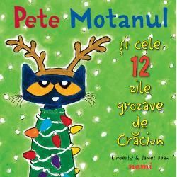 În aceast&259; reinterpretare a colindului clasic de Cr&259;ciun Pete Motanul îi ajut&259; pe copii s&259; numere cu veselie zilele r&259;mase pân&259; la marea zi Între o pereche de m&259;nu&537;i pufoase &537;i o excursie la mare încap cadouri amuzante &537;i surprinz&259;toare cum numai Pete motanul ar &537;ti s&259; ofere