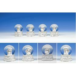 Glob cu zapada cu ingeras Igor diametru 6cm modele diferite vezi imagineaPretul afisat este per bucata