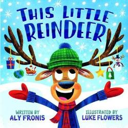 This little reindeer went to market This little reindeer loaded the sleigh This little reindeer did some stretching And this little reindeer mapped the way These little reindeer have a lot of work to do to prepare for Christmas One goes to the market one loads Santas sleigh one stretches one cooks some treats and one plays in the snow Now theyre all ready to deliver presents and wish you a Merry Christmas