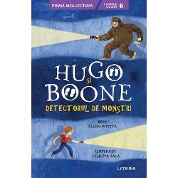 Hugo este un pui de Bigfoot care &238;&537;i dore&537;te s&259; &238;nt&226;lneasc&259; o fiin&539;&259; uman&259; Boone este un pui de om care viseaz&259; s&259; &238;nt&226;lneasc&259; un BigfootC&226;nd lumile lor se &238;nt&226;lnesc &238;ntre cei doi se na&537;te cea mai pu&539;in probabil&259; prietenie&206;ntr-o zi Hugo prime&537;te prin po&537;t&259; o surpriz&259; un Detector de Mon&537;tri Dar c&226;nd detectorul &238;i duce pe Hugo &537;i