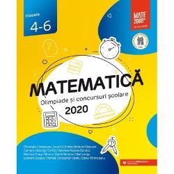 Culegerea de fa&539;&259; con&539;ine majoritatea problemelor date la concursurile de matematic&259; din Rom&226;nia la clasele a IV-a a V-a &537;i a VI-a &238;n anul &537;colar 2019-2020 Enun&539;urile &537;i solu&539;iile au fost redactate cu grij&259; de unii dintre cei mai profesioni&537;ti &537;i pasiona&539;i profesori din &539;ar&259; care de-a lungul anilor au cizelat competen&539;ele matematice ale multor intelectuali cu care azi ne m&226;ndrimCulegerea poate fi