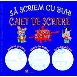Caiet de scriere 5-8 ani