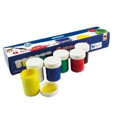 Gouache 6 culorisetContinut 6 borcanele x 20 ml ambalate in cutie de carton