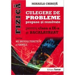 Culegere de probleme propuse si rezolvate clasa a IX-a fizica