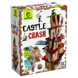 Un joc distractiv de vitez&259; &537;i echilibru în care micu&539;ii pot s&259;-i provoace pe adul&539;i s&259; construiasc&259; pe un teren plat sau un spa&539;iu plan cel mai înalt castel Ave&539;i grij&259; la provoc&259;rile care vin din aruncarea zarurilorCon&539;ine·114 c&259;r&539;i mari din carton rezistent·zar de lemn·12 personaje din carton·carte de