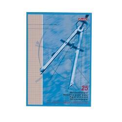 Bloc Hartie Milimetrica A4 25 Coli F8200-25
