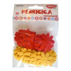 Contine 50 flori; dimensiune aprox 25cm