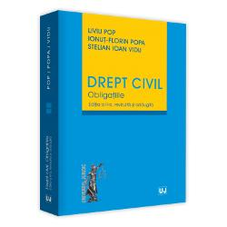 Noua edi&539;ie aObliga&539;iilora avut în vedere doctrina &537;i jurispruden&539;a în curs de cristalizare de aproape un deceniu de aplicare a noului Cod civil Eforturile autorilor sunt animate de inten&539;ia de a oferi cititorului o versiune cât mai actual&259; a teoriei obliga&539;iilor civile f&259;r&259; a evita comentariile critice fie la adresa solu&539;iilor existente în dreptul pozitiv fie la adresa interpret&259;rilor