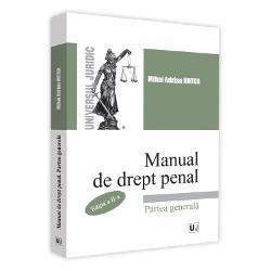 Manual de drept penal. Partea generala (editia a II a) imagine librarie clb