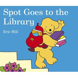 Spot loves reading Join Spot in this new storybook by Eric Hill as he visits the library for the first time listens to a story and borrows lots of fun books to read at homeGoing to the library can be an exciting new first experience for young children - theres lots to learn about choosing a book taking it to the counter to get it stamped then taking it home to read and remembering to return it to the library on time Libraries are the perfect place for young book lovers and