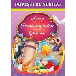 Rapunzel, Pescarul si pestisorul de aur, Gainusa rosie imagine librarie clb