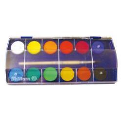 Vopsea de inalta calitate culori dinamice putere de acoperire mare rezistenta excelenta la lumina; setul contine 11 culori 1 pastila alba si pensula; capac transparent; prezentare cutie din carton