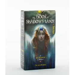 The Book of Shadows Tarot is the first volume in a two volume deck set conceptualised by tarot expert Barbara Moore This is the as above deck focusing on universal and divine energies while the second will be so below and concentrate on everyday human experiences