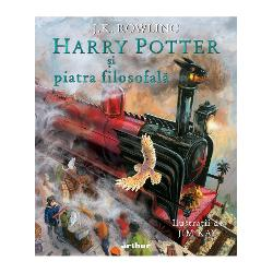 """Produs sigilat cu responsabilitate la 159 °C""""Am fost profund emo&539;ionat&259; s&259; v&259;d ilustra&539;iile lui Jim Kay Îmi place enorm interpretarea pe care o d&259; el lumii lui Harry Potter M&259; simt onorat&259; &537;i recunosc&259;toare c&259; &537;i-a pus talentul la lucru pentru asta"""" JK Rowling"""