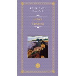 Roman definitoriu pentru existen&539;ialismul filosofic transpus în literatur&259; scris sub forma unui jurnal g&259;sit întâmpl&259;tor de un editor &537;i publicat în 1938 Grea&355;a ne relateaz&259; o perioad&259;din via&539;a tân&259;rului Antoine Roquentin petrecut&259; în imaginarul port francez Bouville considerat de critici a fi Le Havre unde Sartre a predat filosofie la liceu înainte de izbucnirea celui de-al Doilea
