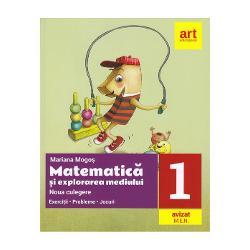 Noua culegere de matematica si explorarea mediului clasa I (editia 2020) Exercitii, probleme, jocuri Mogos imagine librarie clb
