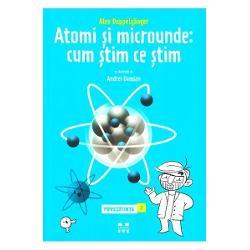 Uita-te in jur Uita-te la tine Uita-te la aceasta carte Uita-te la nori Uita-te la Luna Oriunde la oricine sau la orice te-ai uita cu totii avem ceva in comun intregul Univers este compus dintr-un soi de piese Lego care se numesc atomi Desi atomii individuali