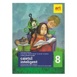 Caietul inteligent. Literatura, limba romana, comunicare clasa a VIII a semestrul I+II imagine librarie clb