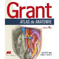 Grant. Atlas de anatomie (Editia a XIV-a) imagine librarie clb