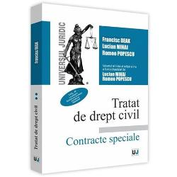 Tratat de drept civil. Contracte speciale volumul II. Locatiunea. Inchiderea locuintei. Arendarea. Mandatul (editia a V a)