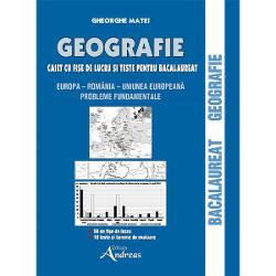 Geografie. Caiet cu fise de lucru si teste pentru bacalaureat imagine librarie clb