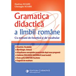 Gramatica didactica a limbii romane imagine librarie clb