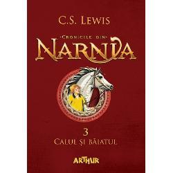 În noaptea în care Shasta afl&259; c&259; nu e fiul pescarului Arsheesh &351;i c&259; acesta vrea s&259;-l vând&259; ca sclav se hot&259;r&259;&351;te s&259; fug&259; din Calormen împreun&259; cu Bree Calul Vorbitor În drum spre miaz&259;noapte spre Narnia se întov&259;r&259;&351;esc cu Aravis &351;i cu Hwin fugare &351;i ele span