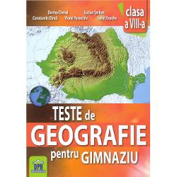 Teste geografie clasa a VIII-a