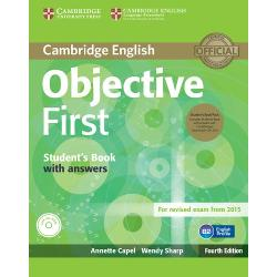 Fourth edition of the best-selling Cambridge English First FCE course updated to prepare for the 2015 revised exam The Students Book with answers contains fresh updated texts and artwork that provide solid language development lively class discussion and training in exam skills The 24 topic-based units include examples from the Cambridge English Corpus to highlight common learner errors while vocabulary sections informed by the English Vocabulary Profile ensure that students are