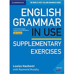 Raymond Murphys English Grammar in Use is the first choice for intermediate B1-B2 learners and covers all the grammar you will need at this level This book with answers has clear explanations and practice exercises that have helped millions of people around the world improve their English It is perfect for self-study and can also be used by teachers as a supplementary book in classrooms