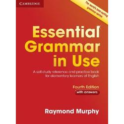 The worlds best-selling grammar series for learners of English Essential Grammar in Use is a self-study reference and practice book for elementary-level learners A1-B1 used by millions of people around the world With clear examples easy-to-follow exercises and answer key the Fourth edition is perfect for independent study covering all the areas of grammar that you will need at this level The book has an easy-to-use format of two-page units with clear explanations of grammar points