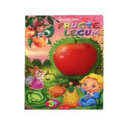 Invatam fructe si legume imagine librarie clb