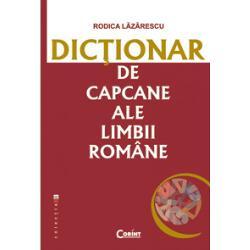 Inregistrand aproximativ 2880 de cuvinte capcana dictionarul de fata are ca support a doua editie aDictionarului ortografic ortoepic si morfologic al limbii romane aparut in 2005 si urmareste cateva directii- subliniaza modificarile normative operate in cea de-a doua editie a DOOM;- evidentiaza mai vechile capcane care il pandesc pe vorbitorul de limba romana pleonasme confuzii paronimice etimologii populare accentuari gresite sa;-