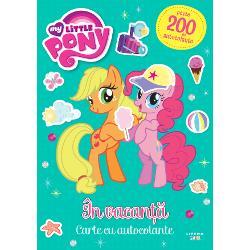My Little Pony. In vacanta. Peste 200 de autocolante! imagine librarie clb