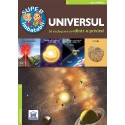 Pentru cei care vor s&259; afle informa&355;ii despre stele Soare planete Luna P&259;mânt pentru cei care sunt curio&351;i de diferen&355;a dintre materie &351;i atom sau care vor s&259; &351;tie de ce str&259;lucesc stelele &351;i ce sunt supernovele am realizat aceast&259; enciclopedie Ea r&259;spunde la marile întreb&259;ri legate de Univers