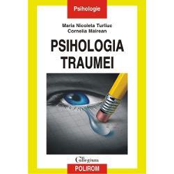 Stresul si trauma psihica influenteaza perceptia gandirea si memoria avind adesea consecinte grave asupra modului in care persoana afectata se percepe pe sine sau lumea inconjuratoare Sinteza a celor mai noi informatii din domeniu Psihologia traumei analizeaza tulburarile psihotraumatice factorii de risc si factorii protectivi si prezinta strategii de coping modalitati de prevenire a stresului posttraumatic precum si cele mai eficiente terapii