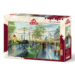 Puzzle 1000 piese Spring Walk Paris AP4225