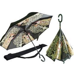 Umbrela husa pentru umar klimt kiss/pomul vietii 0217241 imagine librarie clb