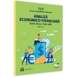 Analiza economico-financiara. Studii de caz. Teste grila (editia a II a) imagine librarie clb