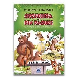 """Orchestra din p&259;dure – o încânt&259;toare carte cu poezii ilustrat&259; într-un mod absolut minunat se adreseaz&259; tuturor copiilor cu vârstele peste 4 ani În aceast&259; carte autorul ne ajut&259; s&259; descoperim animalele &537;i ne arat&259; petrecerea pe care o pot da acestea în p&259;dure """"Lupul &537;i-a schimbat n&259;ravul mititelul &537;i firavul Nu mai d&259; iama"""
