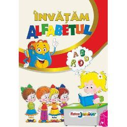 O carte frumos ilustrata unde fiecare litera a alfabetului are corespondent cuvantul si imaginea care incep cu litera respectiva De asemenea copilul poate exersa scrierea literelor pe spatiile special concepute