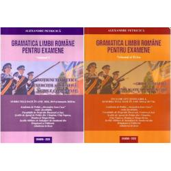Gramatica limbii romane pentru examene. 2800 grile tematice explicate si comentate editia 2016 volumul I+II