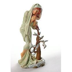 Statueta (Polystone) Mucha Iarna 22cm MUC07