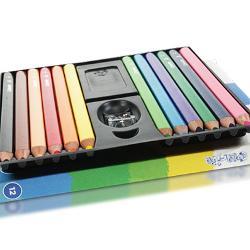 Creioane colorate jumbo Set 12 culoriIn set ascutitoare 1 bucDiametru grif 29mm Nu sunt recomandate copiilorcu virsta sub 3 ani