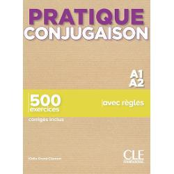Pratique Conjugaison - Niveaux A1/A2 - Livre + Corrigés