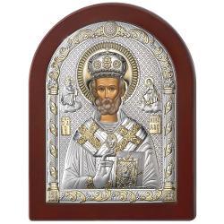 Icoana Sf Nicolae 6x8.5 cm 84126 1LORO
