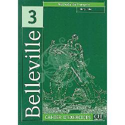 BELLEVILLE 3 CAHIER D'EXERCICES+CD AUDIO imagine librarie clb