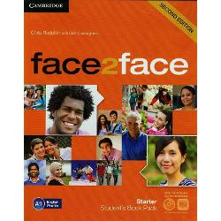 face2face Starter 2nd edition Student's Book with DVD-ROM and Online Workbook Pack